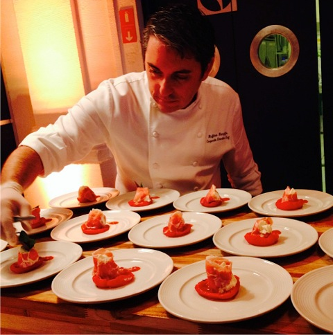 gastronomia Celebrity Cruises
