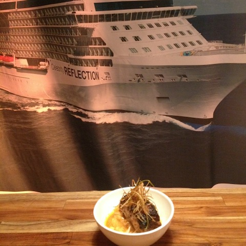 gastronomia Celebrity Cruises
