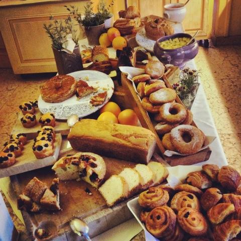 L'Andana café da manhã