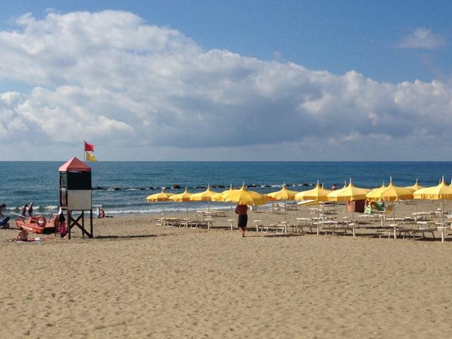 L'Andana praia