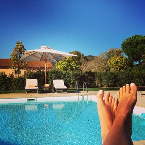 L'Andana piscina