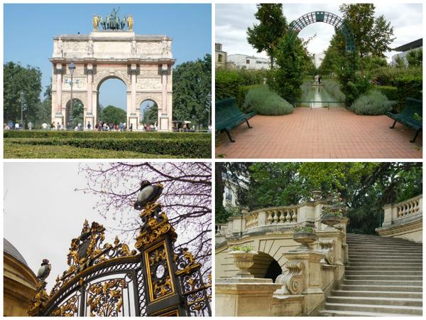 Roteiro pelos jardins de Paris