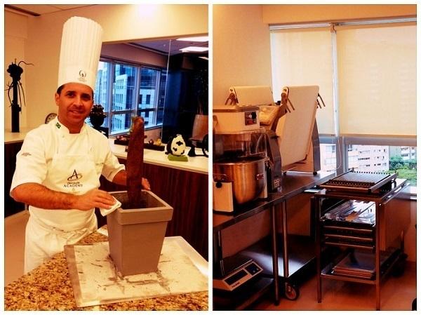 A Chocolate Academy tem uma das cozinhas especializadas mais completas do Brasil.