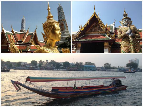 Mosaico de Fotos sobre Bangcoc, Tailândia