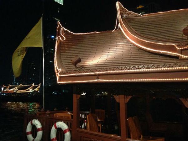 Barco do Hotel Mandarin Oriental