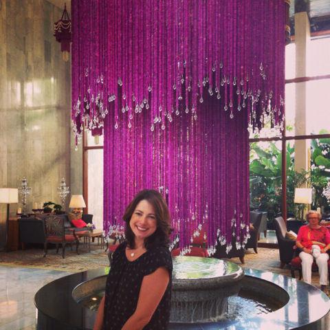 Lobby do Hotel Mandarin Oriental em Bangkok