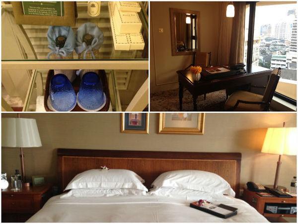 Quarto do hotel Mandarin Oriental em Bangkok