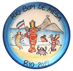 Jantar beneficente Festival Rio Bom de Mesa