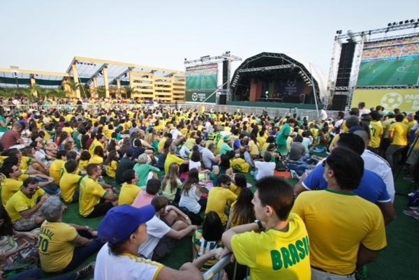17/06/2014_Parque da Bola Rio 2014. Foto: Staff Images.