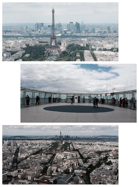 Vista da Torre Montparnasse - Paris