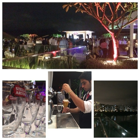 Bar Stella Artois no Village Mall - Rio de Janeiro