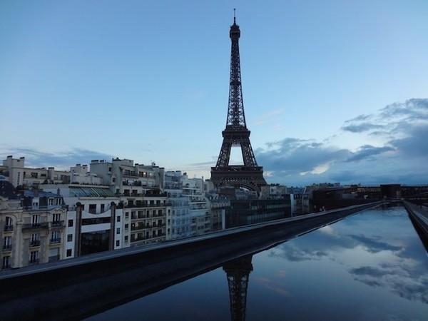 Vista do restaurante Les Ombres - Paris