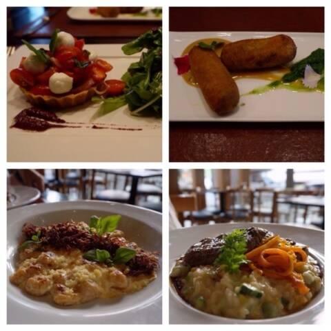 Q Bistrô Brasileiro - Restaurante Leblon - Rio de Janeiro - Entradas e pratos principais