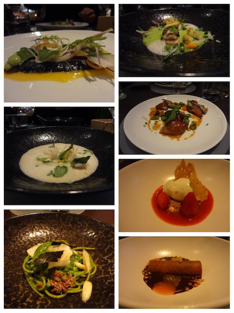 Pratos restaurante Ze Kitchen Galerie - Paris