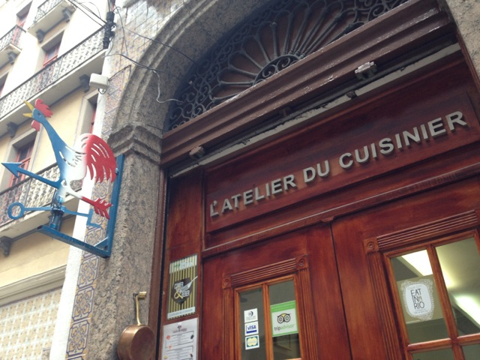 L'Atelier du cuisinier autêntico Restaurante francês no Centro do Rio