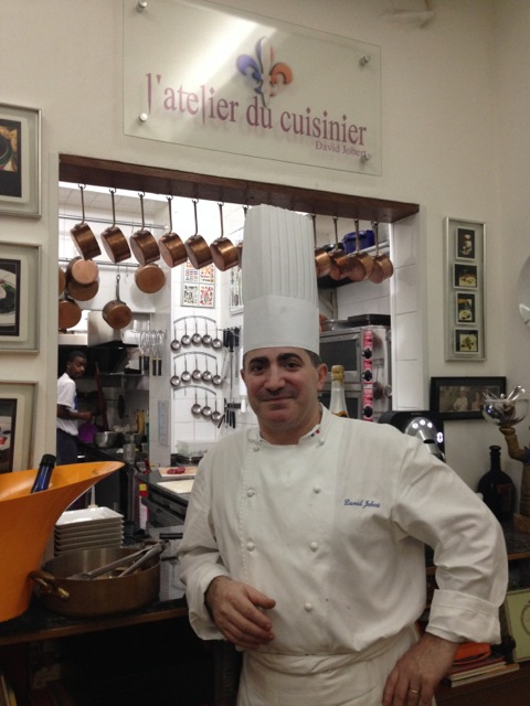 chef l'atelier david jobert