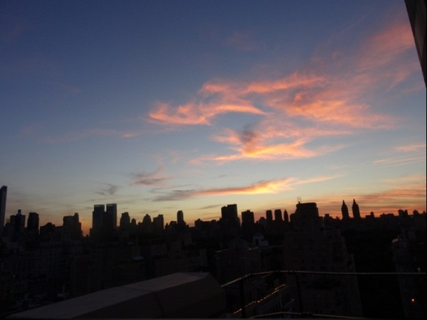 pôr do sol Nova Iorque