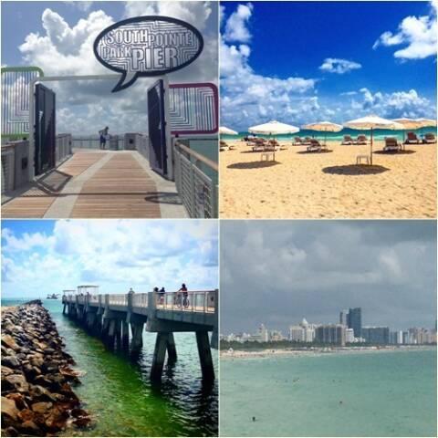 Praias e Pier Miami