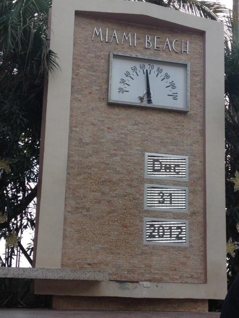 Relógio Miami