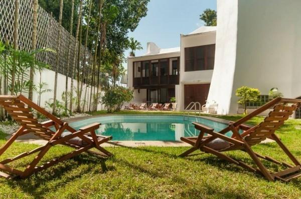 Les Jardins de Rio, hotel no Cosme Velho