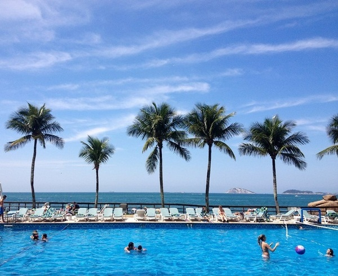 piscina sheraton