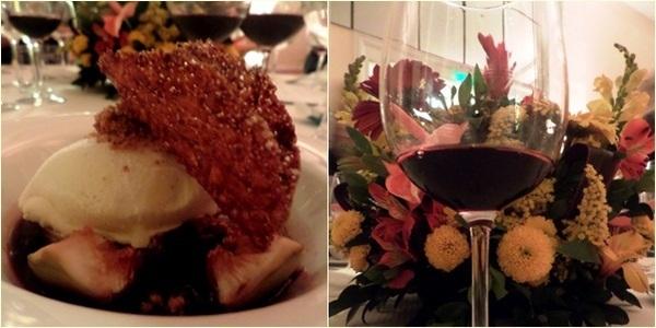 sobremesa e vinho