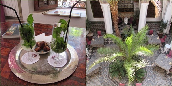 Hotel de luxo em Marrocos