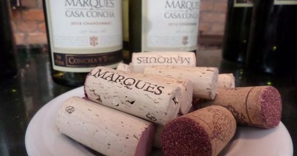 Degustação dos vinhos Marques de Casa Concha no Gero Ipanema