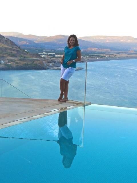 Renata Araújo na Grécia