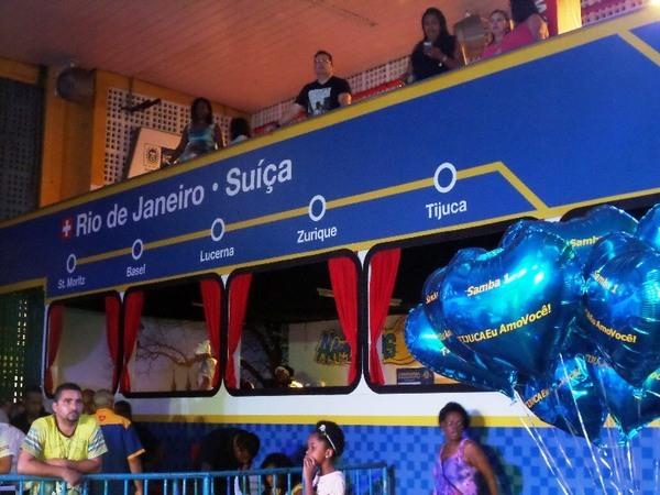 Suíça é enredo na Unidos da Tijuca no Carnaval