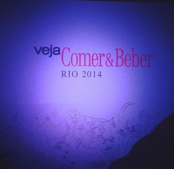 Prêmio Veja Rio Comer e Beber 2014