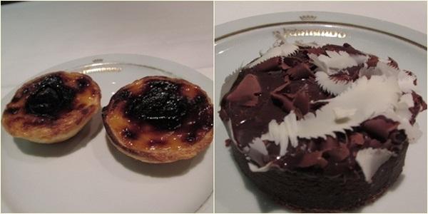 Sobremesas Hotel Lisboa