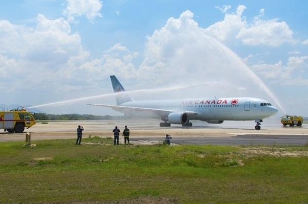 Voo inaugural Air Canada Rio Toronto