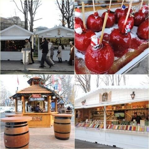 Mercados de natal paris