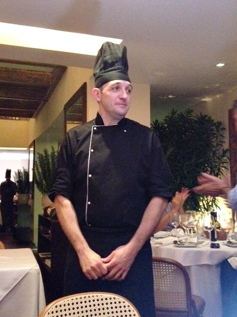 Chef Rudy Bovo
