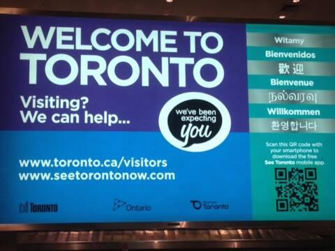 Voo inaugural Rio Toronto