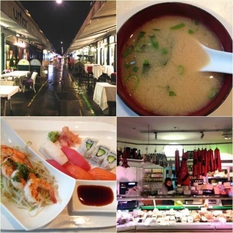 mercado gastronomico