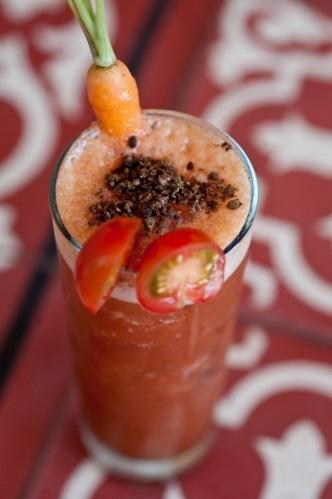Suco de tomate é o novo queridinho do cardápio