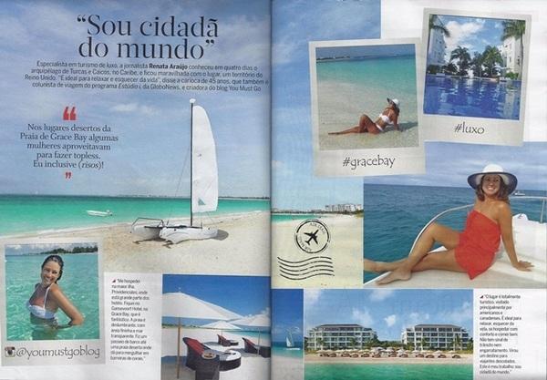 You Must Go na Revista Quem