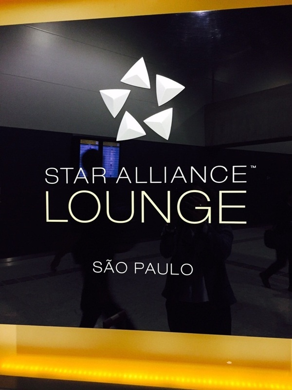 Lounge da Star Alliance em Guarulhos