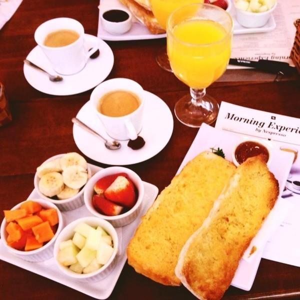 Cafés da manhã Nespresso