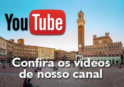 Diversos vídeos em nosso canal do YouTube