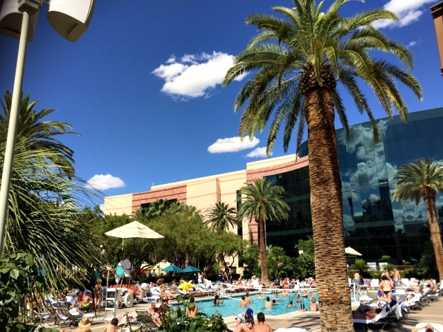 piscina mgm grand las vegas