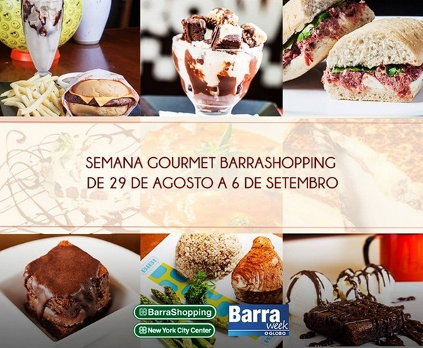 Semana Gourmet no Barra Shopping