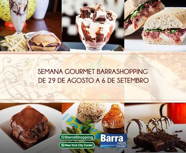 Semana Gourmet no Barra Shopping