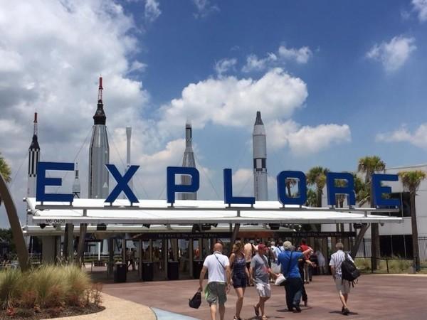 Parque da Nasa, em Orlando