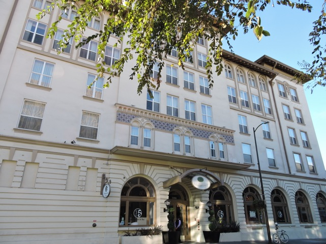 15 hoteis na califórnia