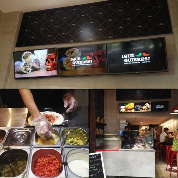 Qué Quieres, comida mexicana em Ipanema