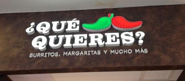 Qué Quieres?, comida mexicana em Ipanema