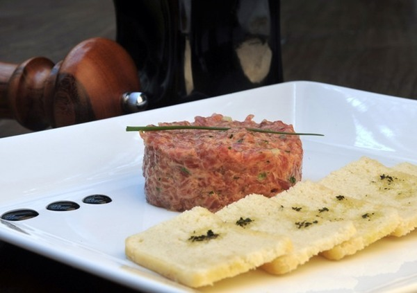 onde comer steak tartare